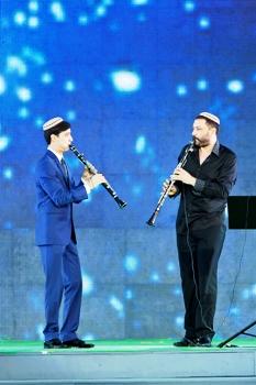 maestro Khushnur and student Bayram